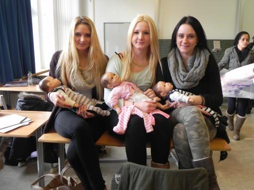 Säuglingsbetreuung